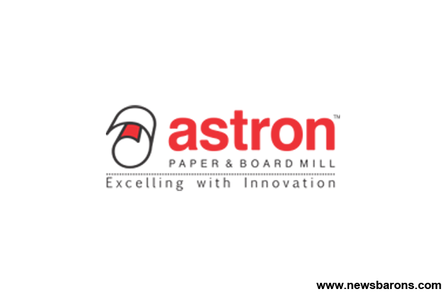 Astron Paper & Board Mill Ltd has a spectacular opening on the bourses