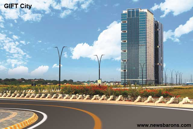 Gift city will create an employment opportunities for nearly 1 gift gujarat international fin tech city indias first operational smart city and international financial services centre boasts of world class negle
