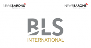 BLS international logo