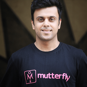 Akshay Bhatia, Founder and CEO of Mutterfly