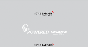 Powered-accelerator logo